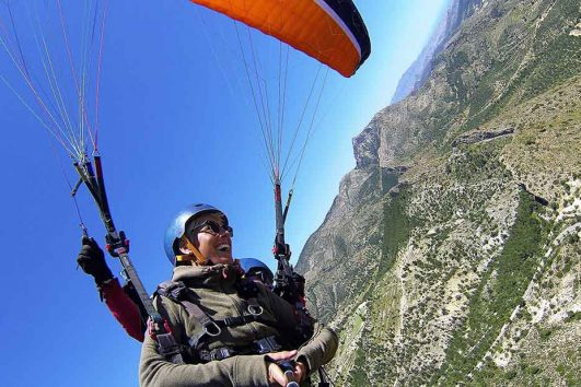 Paragliding in Alicante Spain, the experience of your life