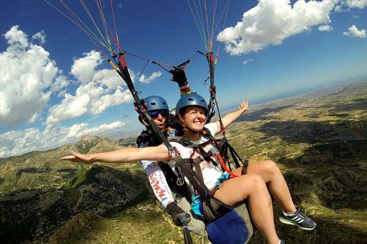 Paragliding Benidorm
