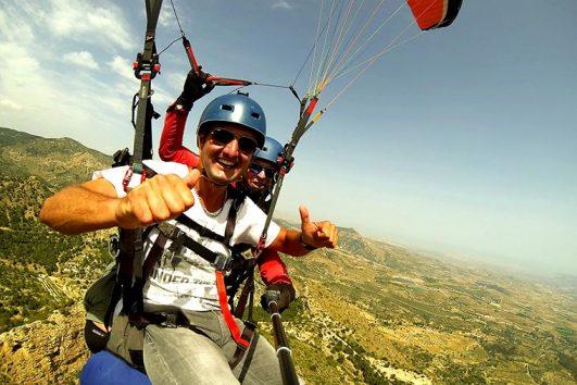 Tandem Paragliding Benidorm