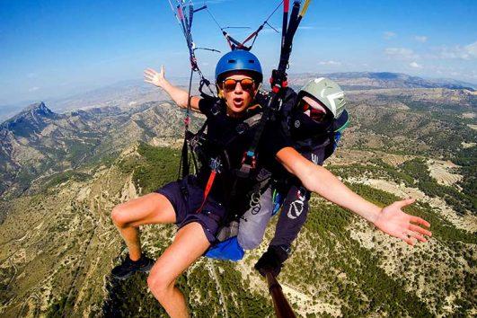 Tandem Paragliding Alicante